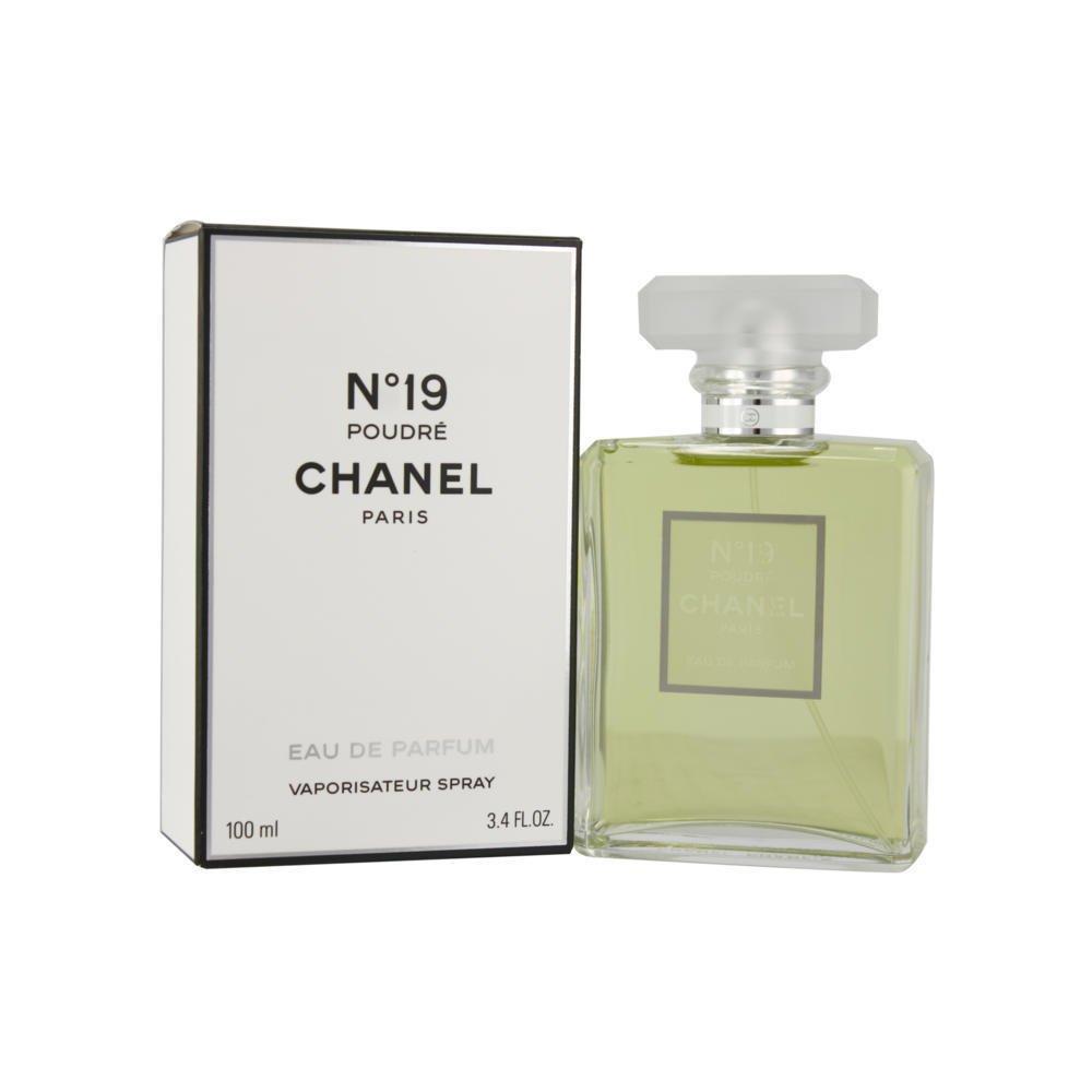 C h a n e l No.19 poudre Eau De Parfum Spray 3.4 OZ.