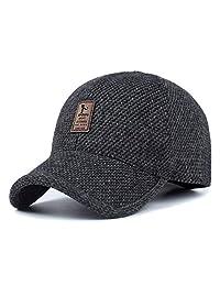 SLBGADIEME Baseball Hat Sport Cap Men Woolen Fabric Autumn Winter SLP-UVX398