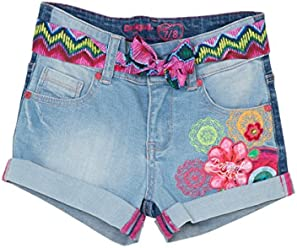 Desigual Girls Denim Shorts ...