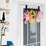 WEBI Over The Door Hooks for Clothes:Door