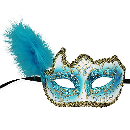 (Masquerade Mask Halloween Ball Mask Christmas Costume Party Mask with)