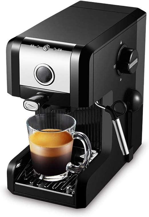 Cafetera Espresso 20 Bares, Cafetera Cappuccino y Latte 1250W Boquilla de Espuma de Leche Profesional 0.97 L Tanque de Agua Calentamiento Rápido 2 Tazas Función: Amazon.es: Hogar