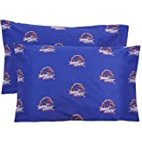 College Covers Boise State Broncos Pair of Solid Pillowcase, Standard