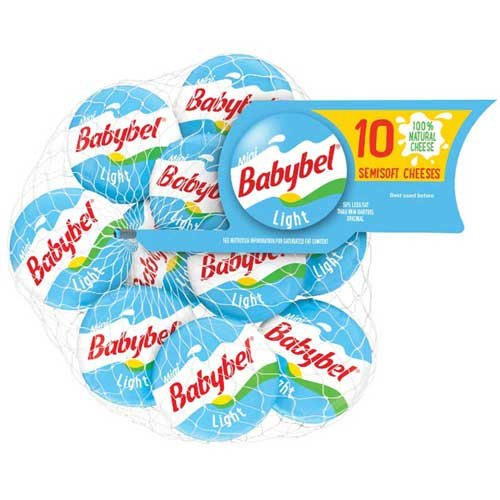Mini Babybel Light Cheese, 7.51 Ounce -- 12 per case. by Mini Babybel (Image #1)