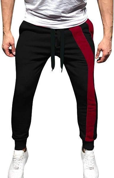 DUJIE Pantalon Chino Hombre Pantalon Deporte Hombre Pantalones Hombre Pantalón Casual para Hombre de Algodón cordón Pantalones Largos de Color sólido para, M-XXL: Amazon.es: Ropa y accesorios
