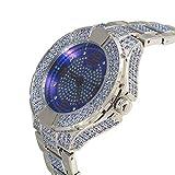 Techno KING Men's Soul Stone Series''Blue Knight'' Watch (6183GM Blue)
