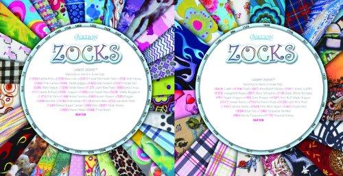 Chaussettes De Démarrage Zocks Par Ovation Gris Dot Art