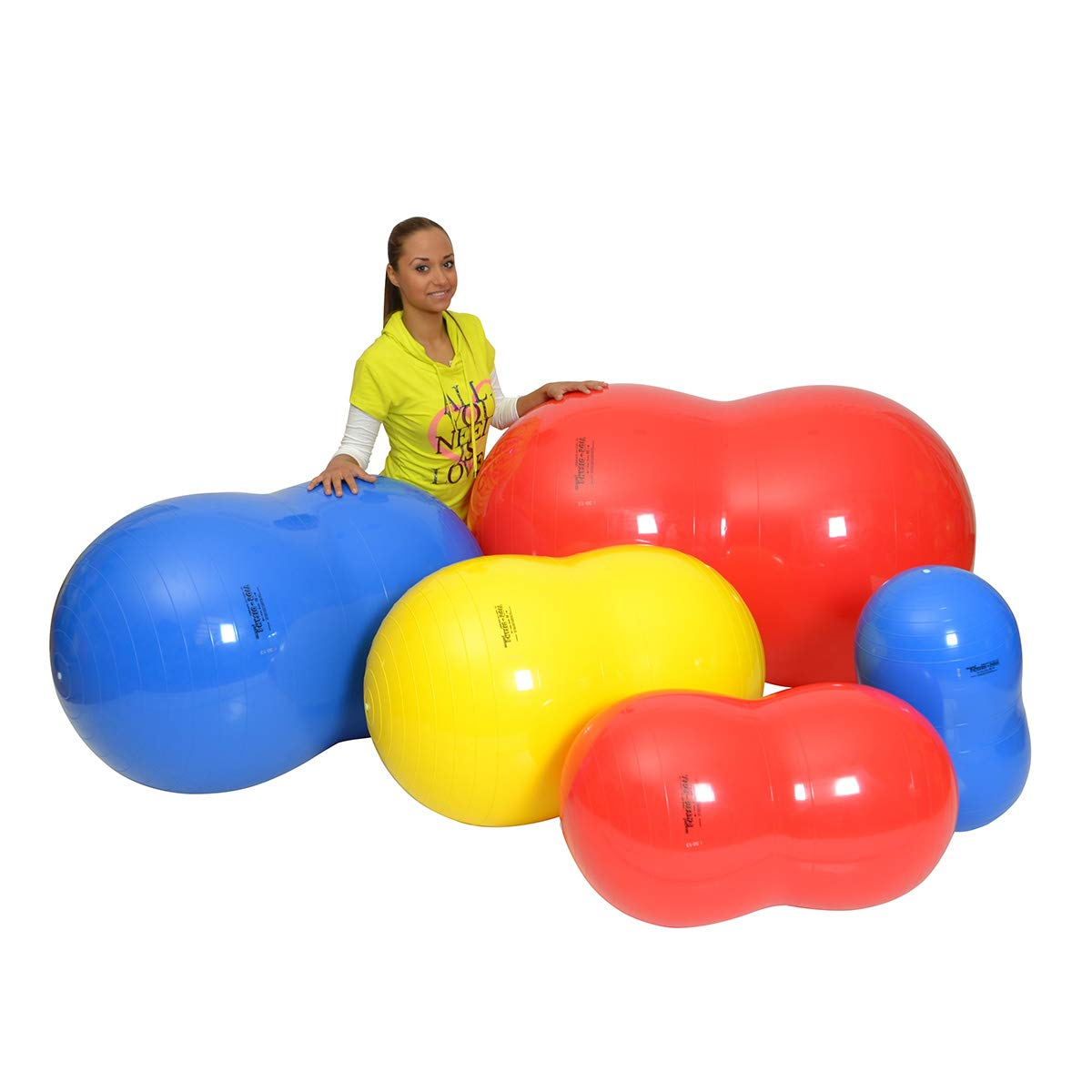 Gymnic Physio Roll Exercise Ball - Red by Gymnic (Image #6)