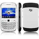 """Blackberry Curve 8520 - Smartphone Entel libre (pantalla de 2,4"""" 320 x 240, cámara 2 MP, 256 MB de capacidad) color blanco"""