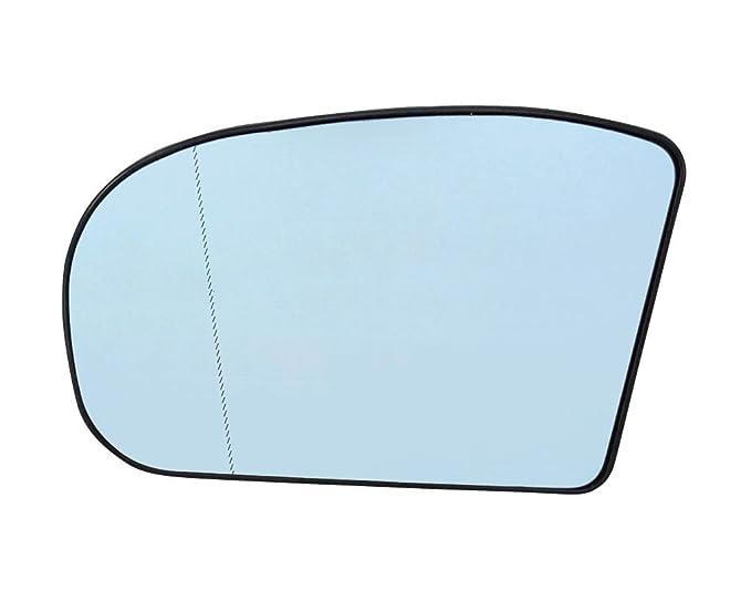 B-Ware Spiegelglas Links Konvex Blau Heizb