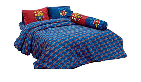 Barcelona Fc Football Club Official Licensed Bedding Set Pillow C... Bed Sheet