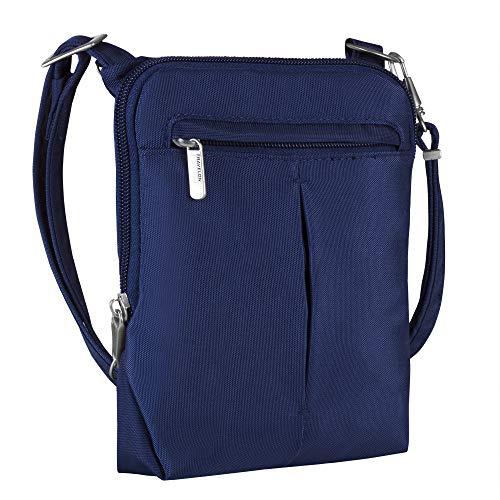 Travelon Anti-Theft Classic Light Mini Crossbody Bag (Small Courier Bag)