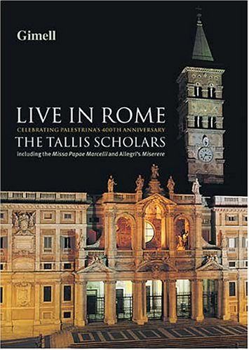 The Tallis Scholars: Live In Rome by Gimell UK