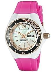 Technomarine Women's TM-115120 Cruise Sport Analog Display Swiss Quartz Pink Watch by TechnoMarine