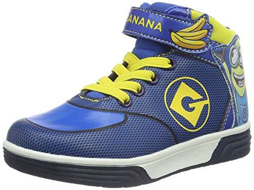 Minions Boys Kids Skate/Street High Sneakers - Zapatillas Niños Azul - Blau (Nv/Cb/Cb/YEL 278)