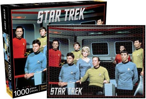 Aquarius Star Trek Original Cast Jigsaw 1000 Piece Jigsaw Puzzle (Star Trek Jigsaw Puzzle)