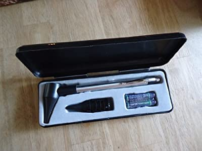 Stainless Steel Otoscope in gift box
