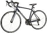 Vilano FORZA 4.0 Aluminum Integrated Shifters bicicleta de ruta, negro, 49cm/Small