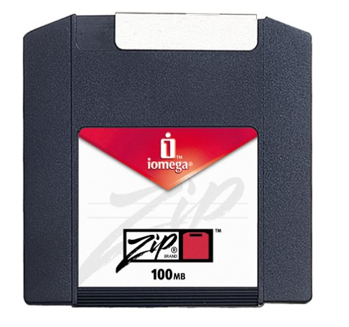 Iomega 31346 Zip 100 MB Disks PC Formatted (6-Pack)