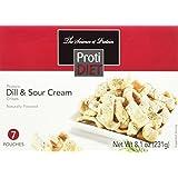 ProtiDiet - Dill & Sour Cream Protein Crisps, 7 Pouches Net Wt. 8.1 oz