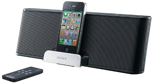 Sony RDP-T50iP 30-Pin iPod and iPhone Dock (Black)