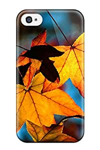 Snap On Case Cover Skin For Iphone 4/4s(colors Of Fall)