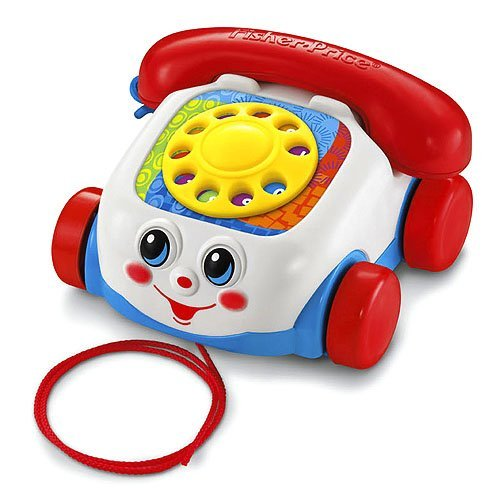 Fisher Price Toddler Pull Toy - Fisher-Price Brilliant Basics Chatter Telephone