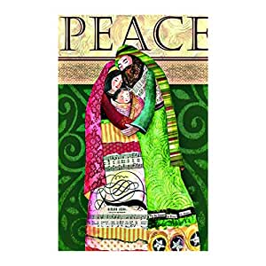 Regular Sized Flag Peace Double Sided decorative flags Sides 12.5 x 18 Inch banner home flags Print flags