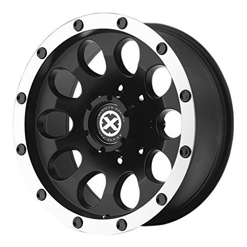 Lug Wheel Center Cap (ATX Series AX186 Slot Satin Black Wheel With Machined Accents (15x10
