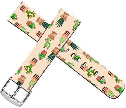 Band Pattern Designer (Bands For Iwatch Band 38mm Women - ENDIY Compatible Designer Fashionable Strap Replacement For Apple Watch Series 1/Series 2/Series 3 38mm Lovely Cute Cactus Pattern)