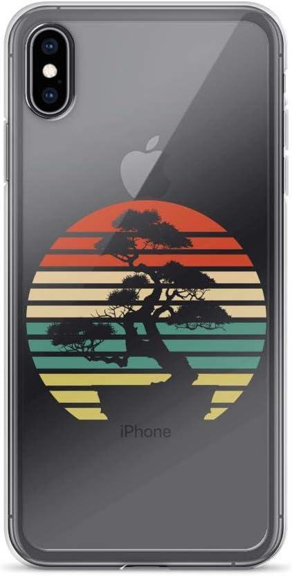 Bonsai Tree Design Japanese Bonsai Tree Sun Bonsai Graphic Apparel Anti-Scratch Shockproof Case for iPhone 7//8