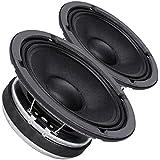 Pair Faital PRO 6FE200 6.5 Midrange Woofer Voice Speaker 8 ohm 260W 95dB 1.5VC