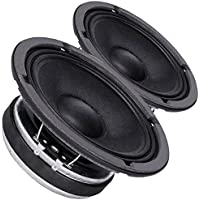 Pair Faital PRO 6FE200 6.5 Midrange Woofer Voice Speaker 8 ohm 260W 95dB 1.5VC