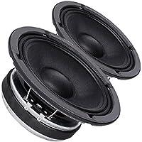 Pair Faital PRO 6FE200 6.5 Midrange Woofer Voice Speaker 4 ohm 260W 95dB 1.5VC