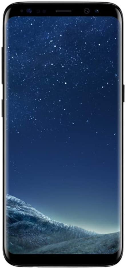 "Samsung Galaxy S8, 5.8"" 64GB (Verizon Wireless) - Midnight Black (Renewed)"
