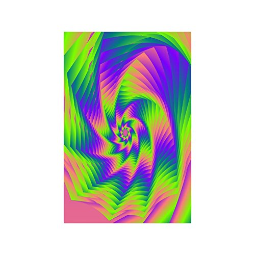 Custom Poster Paper, Colorful Tie Dye Fade-resistant One-side