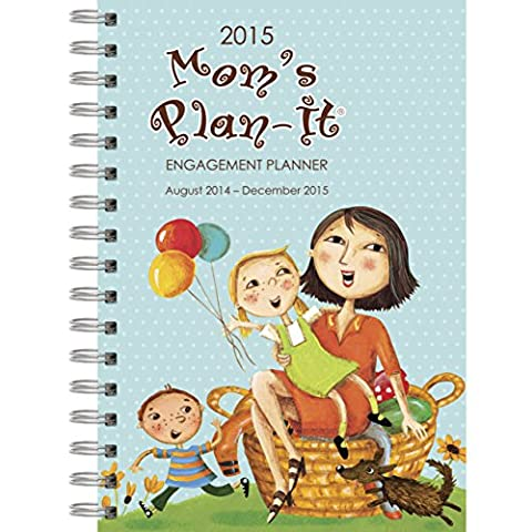 Perfect Timing - Avalanche Mom's 2015 Engagement Planner, August 2014 - December 2015, 6.5 x 8.5 inches (201 Daily Planner)