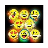 2'' Flashing Emoticon Yoyo