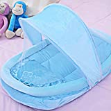 Masall-Baby-Infants-Tent-Mosquito-Net-Portable-Folding-Travel-Crib-Bed-Canopy-Netting-with-a-Pillow