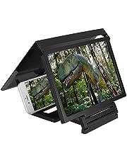 Gsm-schermvergroter, Gsm-schermvergroterhouder Opvouwbare 3D-smartphone-schermvergroter Vergrootscherm voor mobielfilm Videoschermversterker Bescherm ogen