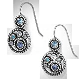 Brighton Halo French Wire Drop Earrings