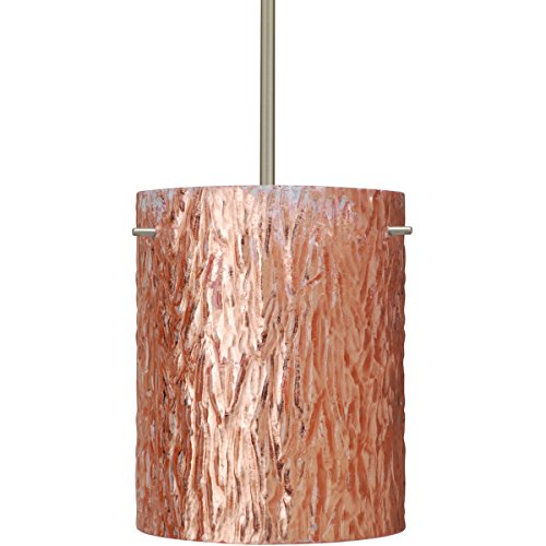 Besa Lighting Tamburo 8 Pendant-1-4006CS Tamburo-8 - One Light Pendant, Copper Foil Shade