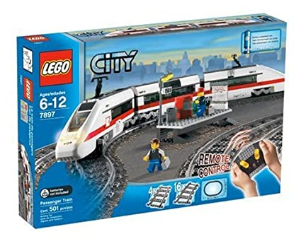 Amazoncom Lego 7897 City Passenger Train Toys Games