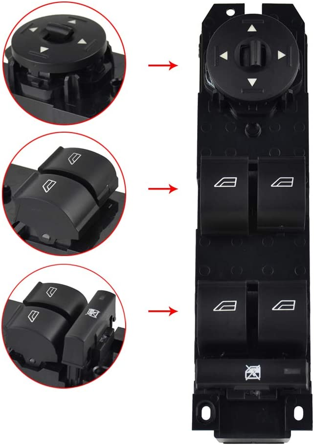 Interior Master Power Window Mirror Switch for Ford Focus 2012 ...