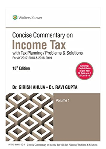 Concise Commentary on Income Tax
