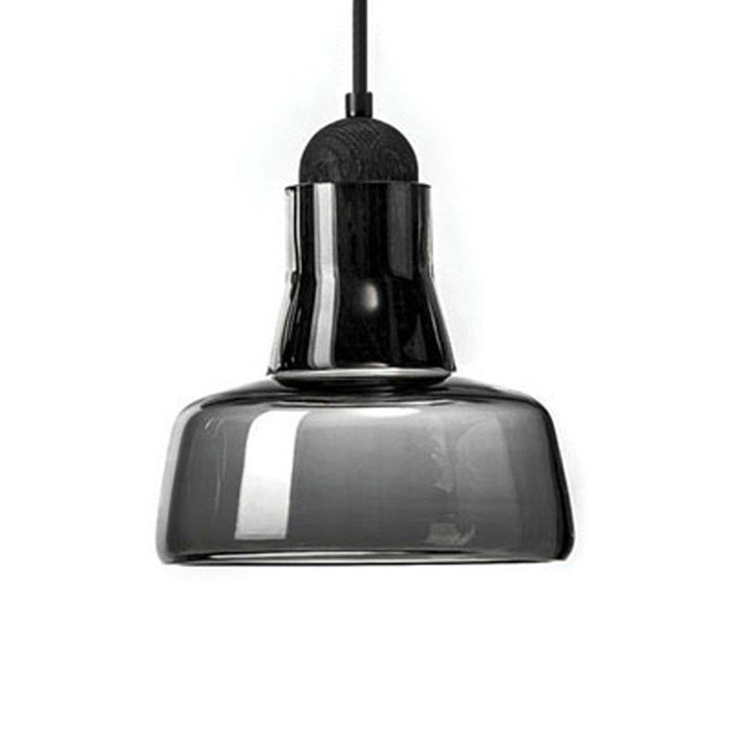 D  STAGE lumièreING Lustre - Lustre à simple tête en verre nordique Lustre simple de restaurant de barre Lustre créatif de chambre à coucher moderne (9cm  11cm) Lumière chaude par défaut (Couleur   D)