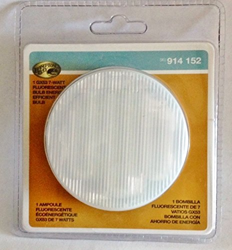Hampton Bay Windward Light Bulb: Buy Special : Hampton Bay 7 Watt GX53 Flourescent Light