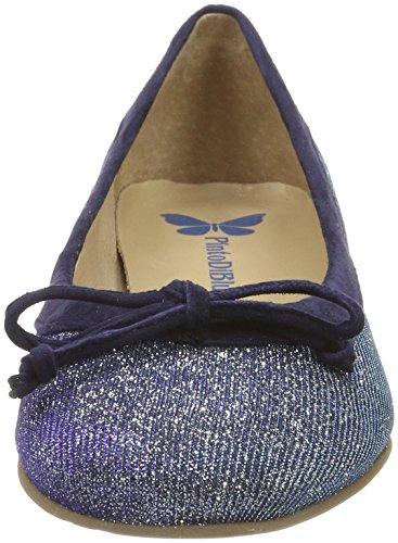 03 Pinto Bout Fermé Di Femme Bleublue Blu SparrowBallerines fgyb76