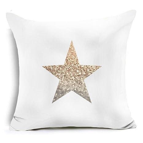 Ala Carta Estrella brillante impreso manta funda de almohada ...