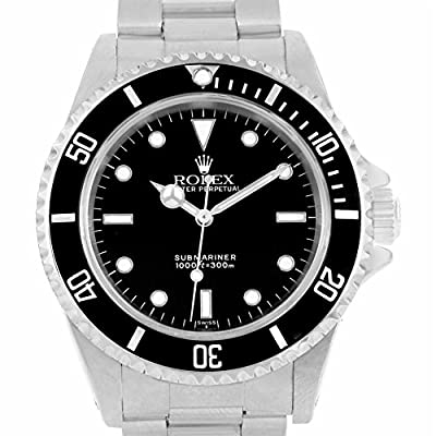 Rolex Submariner Automatic-self-Wind Male Watch 14060 (Certified Pre-Owned) from Rolex